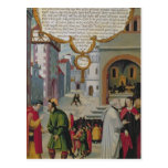 Illustration to Christ's teaching Postcard