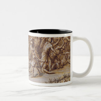 Illustration to 'The Iliad', 1760s (pen & ink, was Two-Tone Coffee Mug