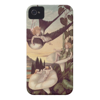 Illustration to 'Thumbkinetta', by Hans Christian iPhone 4 Case-Mate Cases