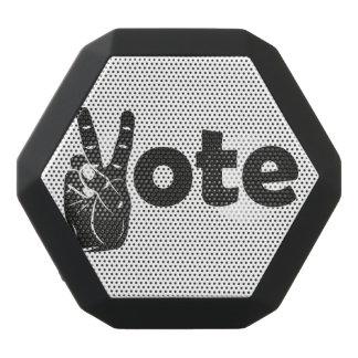 Illustration Vote for Peace Black Bluetooth Speaker