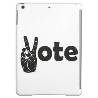 Illustration Vote for Peace Case For iPad Air