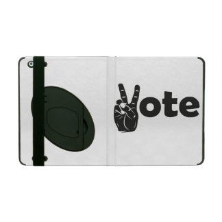 Illustration Vote for Peace iPad Case