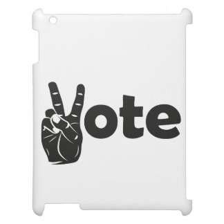 Illustration Vote for Peace iPad Cover