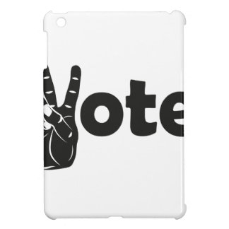 Illustration Vote for Peace iPad Mini Cases