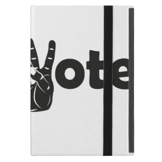 Illustration Vote for Peace iPad Mini Cover