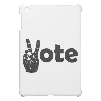 Illustration Vote for Peace iPad Mini Cover
