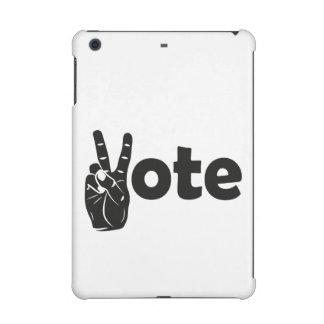 Illustration Vote for Peace iPad Mini Retina Cover