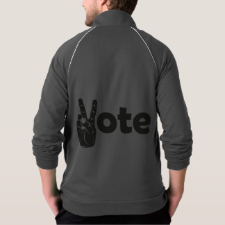 Illustration Vote for Peace Jacket