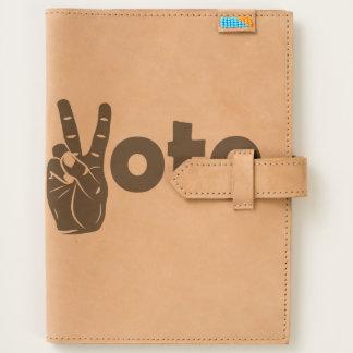 Illustration Vote for Peace Journal