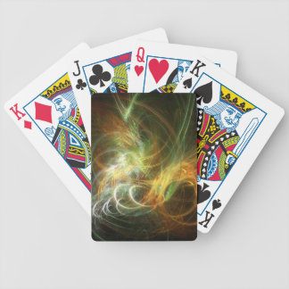 illustration with high detail and vibrant colors bicycle playing cards