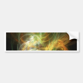 illustration with high detail and vibrant colors bumper sticker