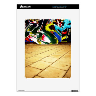illustration with high detail and vibrant colors decal for the iPad