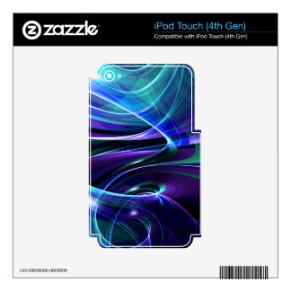 illustration with high detail and vibrant colors iPod touch 4G skin