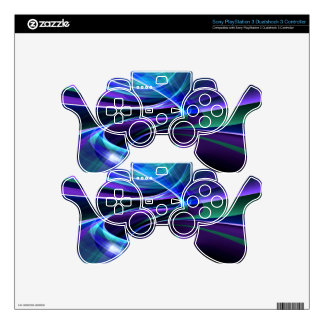 illustration with high detail and vibrant colors PS3 controller decal
