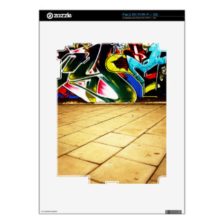 illustration with high detail and vibrant colors skins for the iPad 2