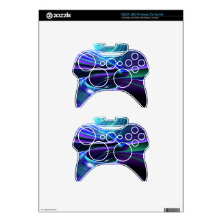 illustration with high detail and vibrant colors xbox 360 controller decal
