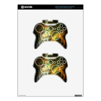 illustration with high detail and vibrant colors xbox 360 controller skin