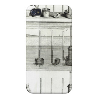 Illustrationfrom 'Traite de la Pesanteur de iPhone 4 Case