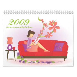 Illustrations 2009 calendar