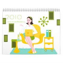 Illustrations 2010 calendar