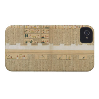 Illustrations of a Pampus manuscript with hierogly iPhone 4 Cases