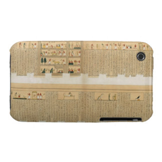 Illustrations of a Pampus manuscript with hierogly iPhone 3 Cases