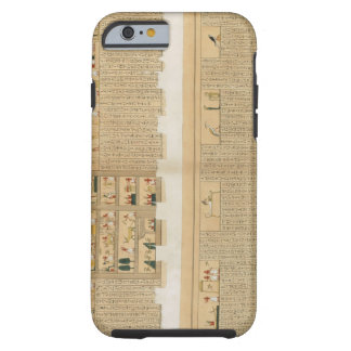 Illustrations of a Pampus manuscript with hierogly iPhone 6 Case