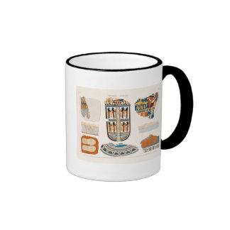 Illustrations of decorative details from the wrapp mug