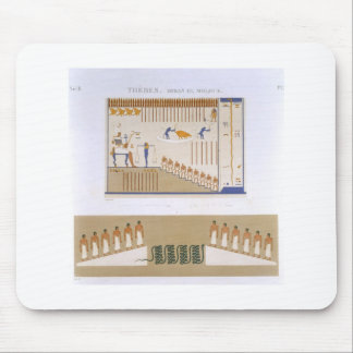 Illustrations of frescos from Byban el Molouk, The Mouse Pad