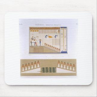 Illustrations of frescos from Byban el Molouk, The Mousepad