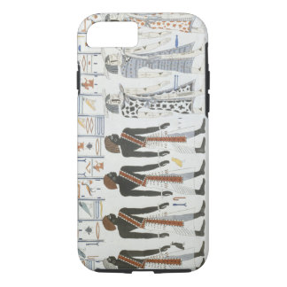 Illustrations of hieroglyphics from the Tombs of t iPhone 8/7 Case