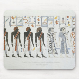 Illustrations of hieroglyphics from the Tombs of t Mousepads