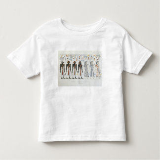 Illustrations of hieroglyphics from the Tombs of t Toddler T-shirt