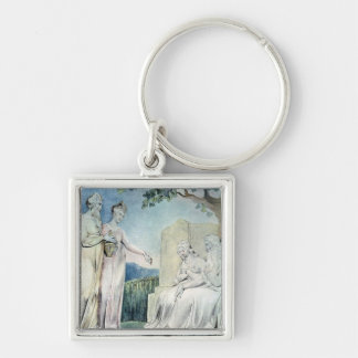 Illustrations of the Book of Job Keychain