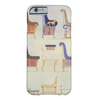 Illustrations of various painted seats and armchai barely there iPhone 6 case