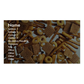 Illustrative Bits and bites Double-Sided Standard Business Cards (Pack Of 100)