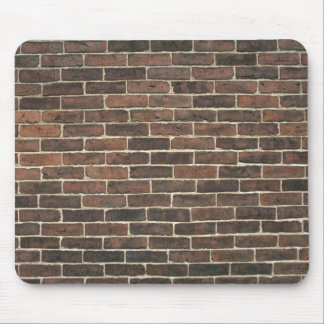 Illustrative Brown brick wall Mousepads