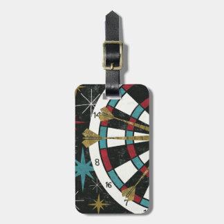 Illustrative Dart Board Luggage Tag