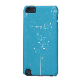 illustrative flowers iPod touch (5th generation) cases
