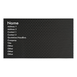 Illustrative Plastic grid Business Card Template