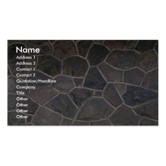 Illustrative Stone facade Double-Sided Standard Business Cards (Pack Of 100)