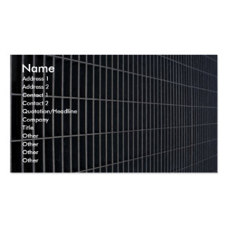 Illustrative Utility grate - receding perspective Double-Sided Standard Business Cards (Pack Of 100)