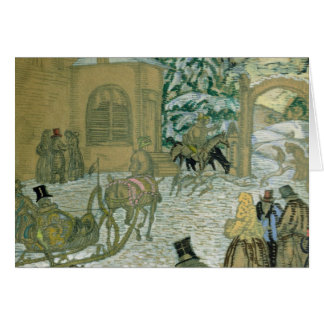 Illustraton for 'Dubrovsky', by Alexander Pushkin Card