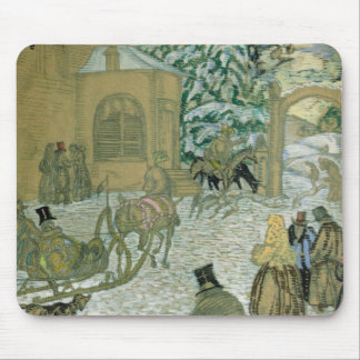 Illustraton for 'Dubrovsky', by Alexander Pushkin Mouse Pad