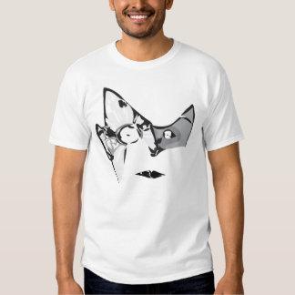 illustrator face tee shirt