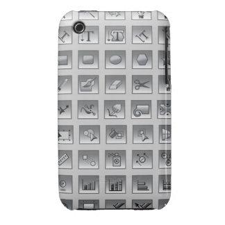 Illustrator Tools Graphic Designer iPhone 3 Case