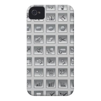 Illustrator Tools Graphic Designer iPhone 4 Case