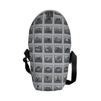 Illustrator ToolS Graphic Designer Messenger Bag
