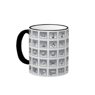Illustrator Tools Graphic Designer Mug