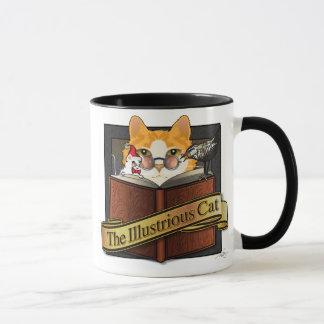 Illustrious Art Nouveau Cat Mug